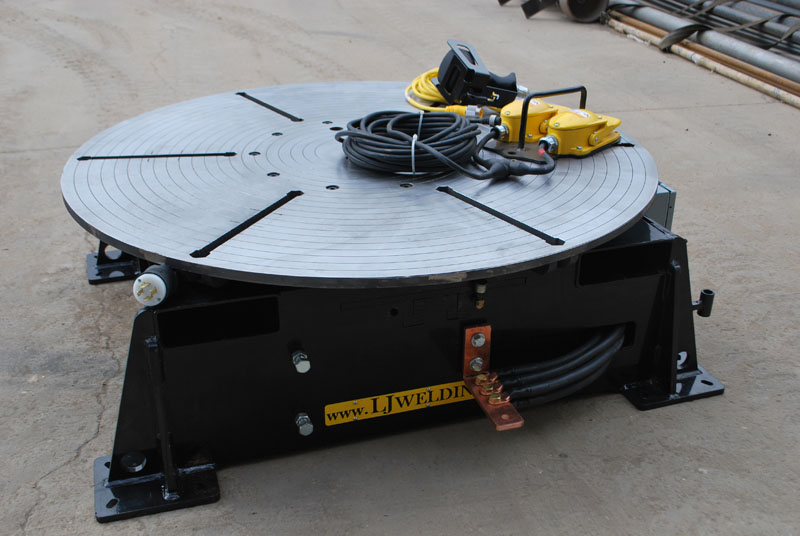 Low Profile Welding Turntable (floor turntable)
