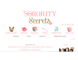 THE SORORITY SECRETS
