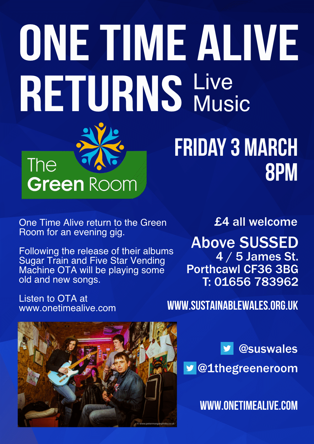 Live music at the Green Room