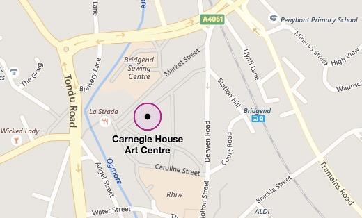 Carnegie House, Wyndham Street, Bridgend (click for interactive map)