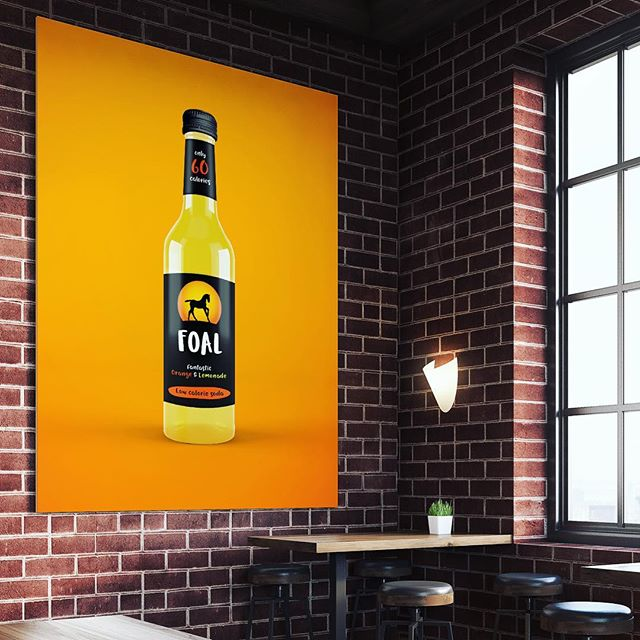 It's hard to miss @foaldrinks fresh new look 👀 give it a try when you see it 👍 and help support a young Scottish business with big ambition - - #GRABaFOAL #madeinscotland #logo #glasgow #branding #design #graphicdesign #packaging #packagingdesign