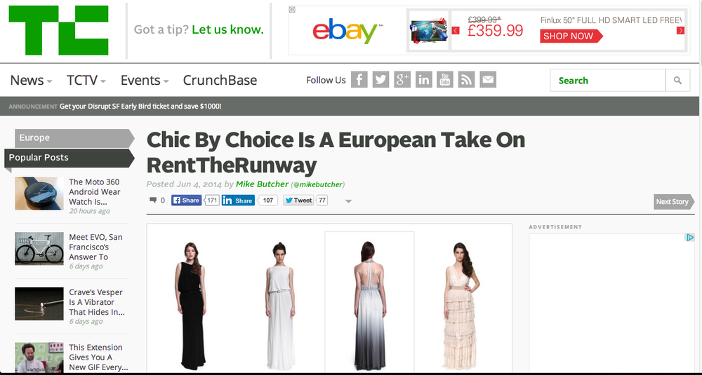 Chic by Choice get TechCrunched