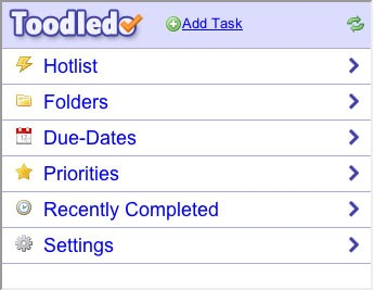 Toodledo app     -   Great for note-taking out and about.