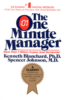 The One Minute Manager by Kenneth H Blanchard & Spencer Johnson   This blockbuster is an easily-read story quickly demonstrates three very practical management techniques: One Minute Goals, One Minute Praisings and One Minute Reprimands. The One Minute Manager also includes information on several studies in medicine and in the behavioural sciences, which help readers understand why these apparently simple methods work so well with so many people. The book is brief, the language is simple, and best of all ...it works.  This is book on my beside table and I constantly refer to it – it's a fantastic sanity check.