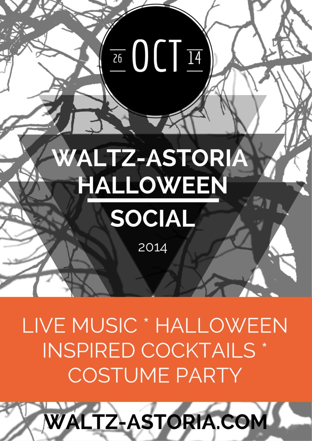 Halloween Social 2014