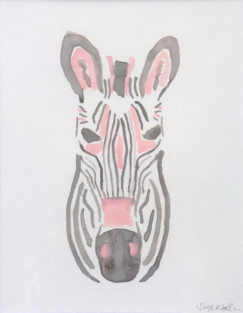 """""""Zsa-Zsa"""" the Zebra"""