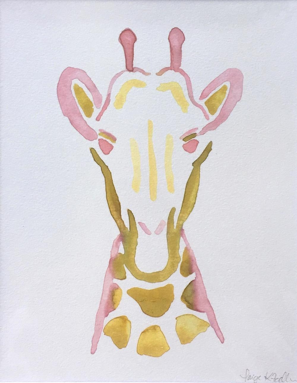 """""""Gee-Gee"""" the Giraffe"""
