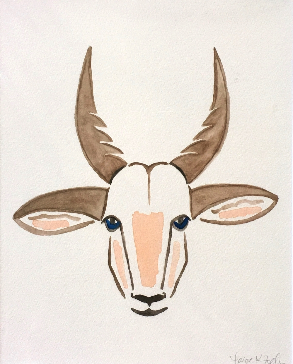 """Arty"" the Antelope"