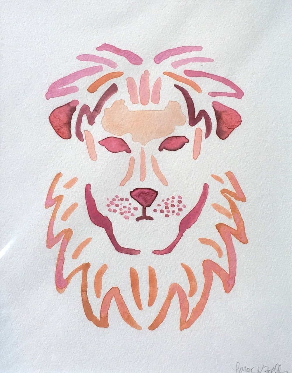 """Lola"" the Lion"