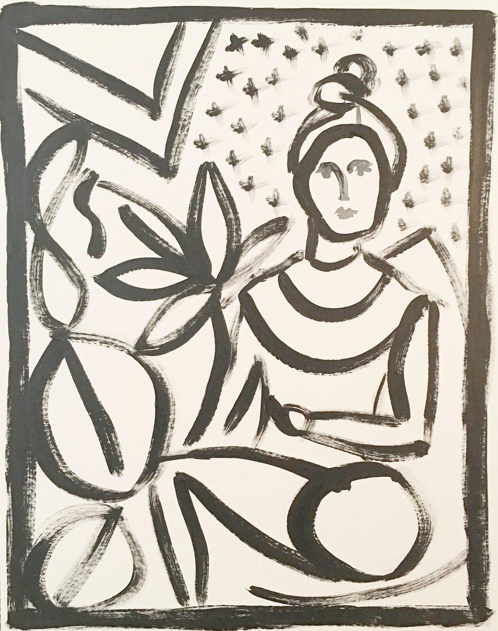 Flower Femme - SOLD