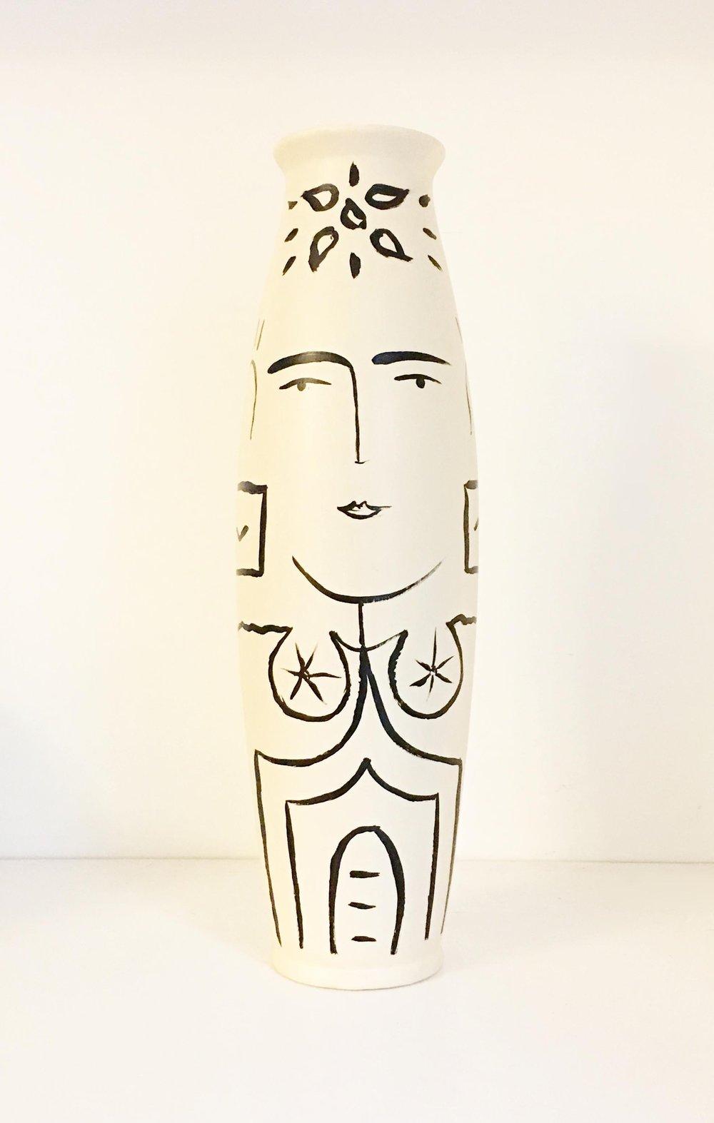 Sacred Femme Tall Vase {sold}