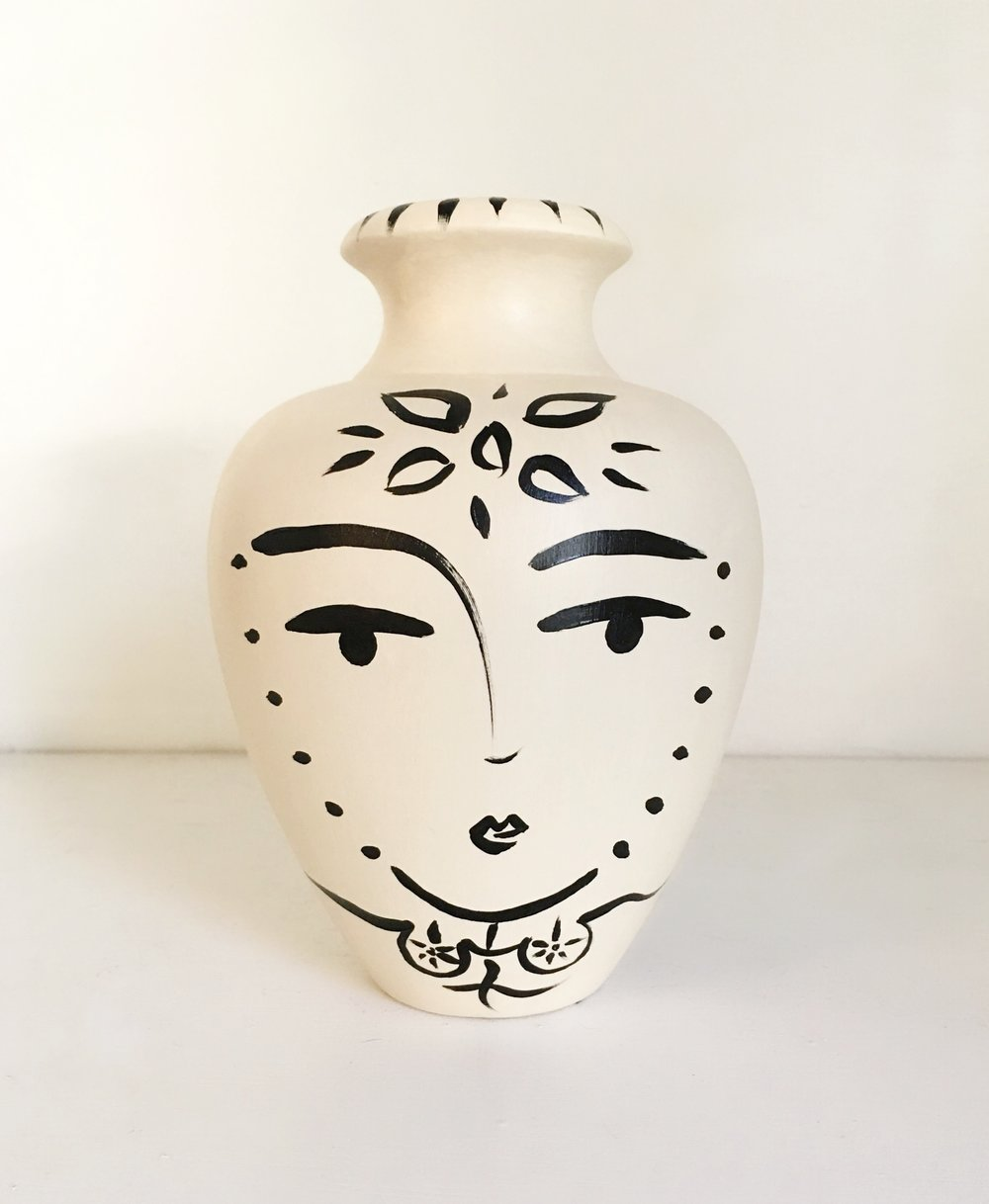 Sacred Femme Flower Vase - {sold} Quogue Gallery