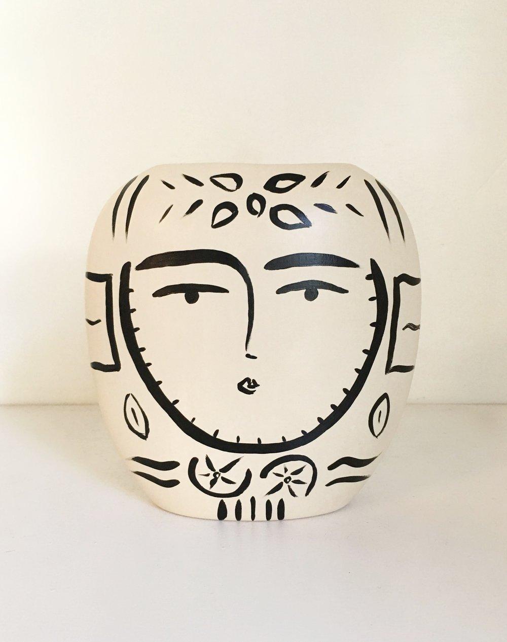 Sacred Femme Vase II - {sold} Quogue Gallery