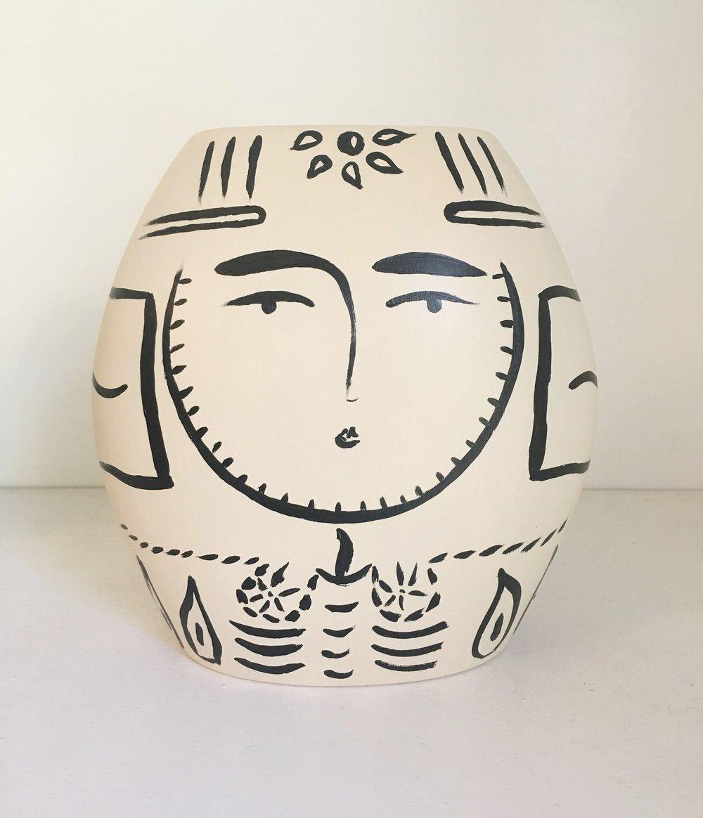Sacred Femme Vase III - Anne Neilson Fine Art