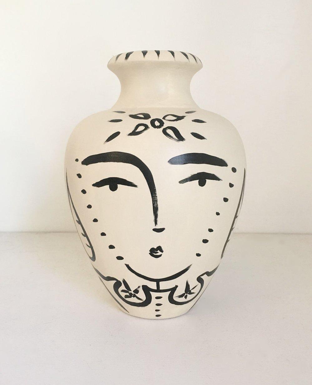 Sacred Femme Lipped Vase I - Sold