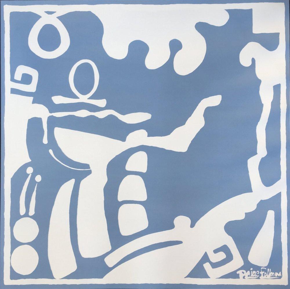 Figurative Scene VII - 40x40 - Anne Neilson Fine Art