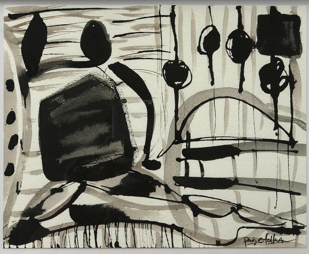 Figurative Scene Montmarc - 10x13  Sold