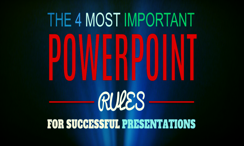powerpoint presentation rules