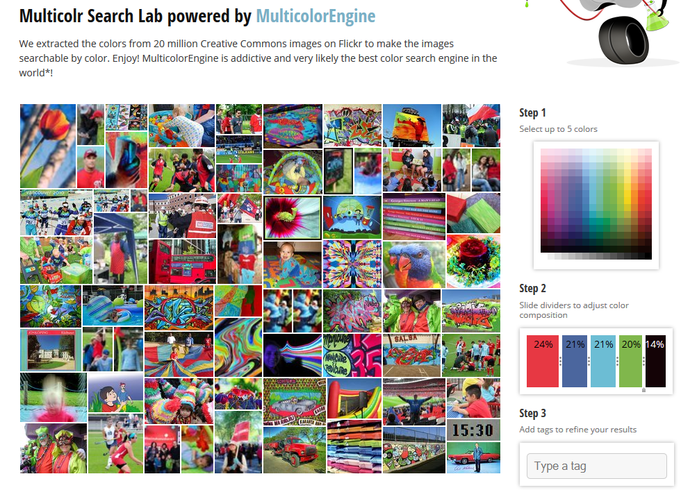 Click the pic to open the Multicolr Search Engine in a new window