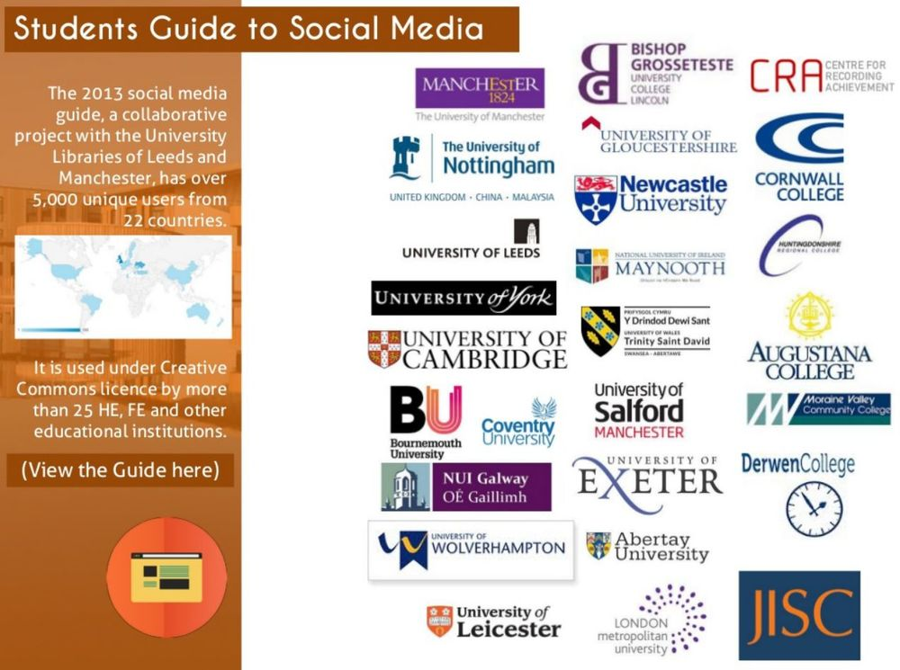 Click this image to open the Student Guide to Social Media in a new window