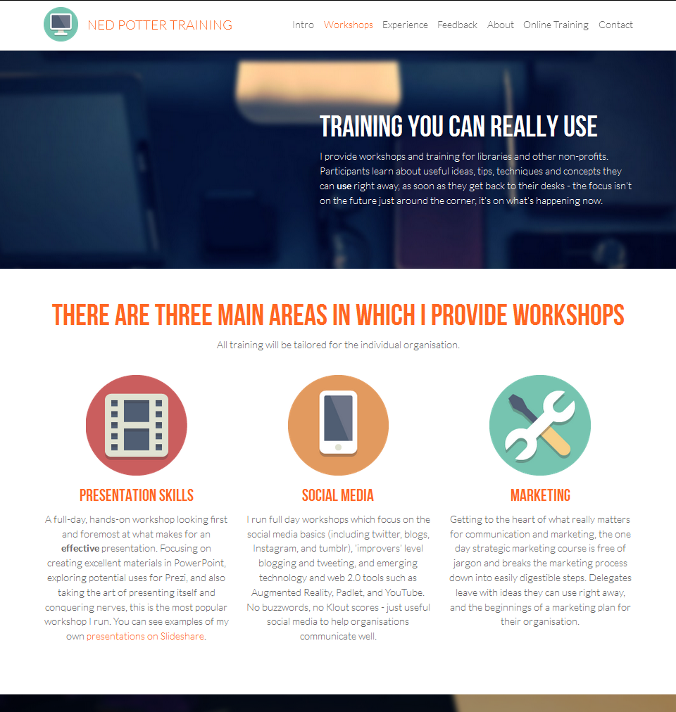 If you need a conference / event / project website, Strikingly might