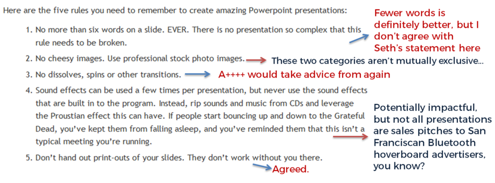 rules 4 creating power point presentation To help an audience tune in to your powerpoint presentation instead of zoning out, stick to these four cardinal rules from communications coach carmine gallo when creating a presentation.
