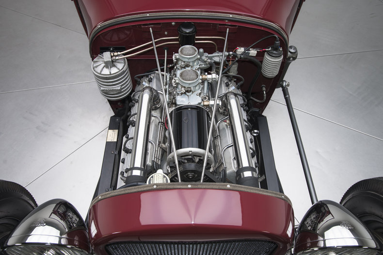1928 Ford Roadster - Engine Photo