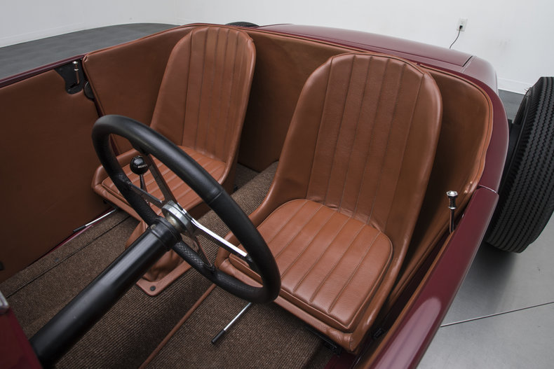 1928 Ford Roadster - Interior Photo