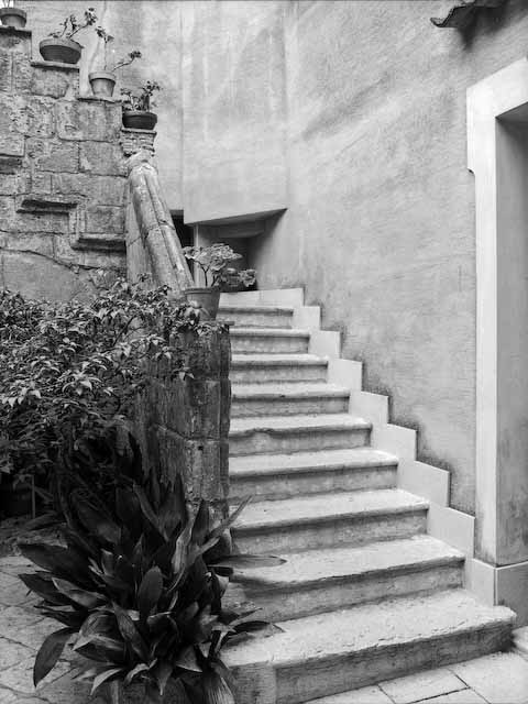 Erice Court Yard, Sicily