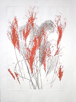 """""""Grass Bouquet VI"""" by Mary D. Ott"""