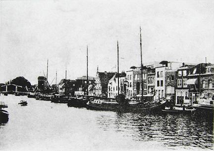 """The Rijn, Facing West (Leiden)"" by Mary D. Ott"