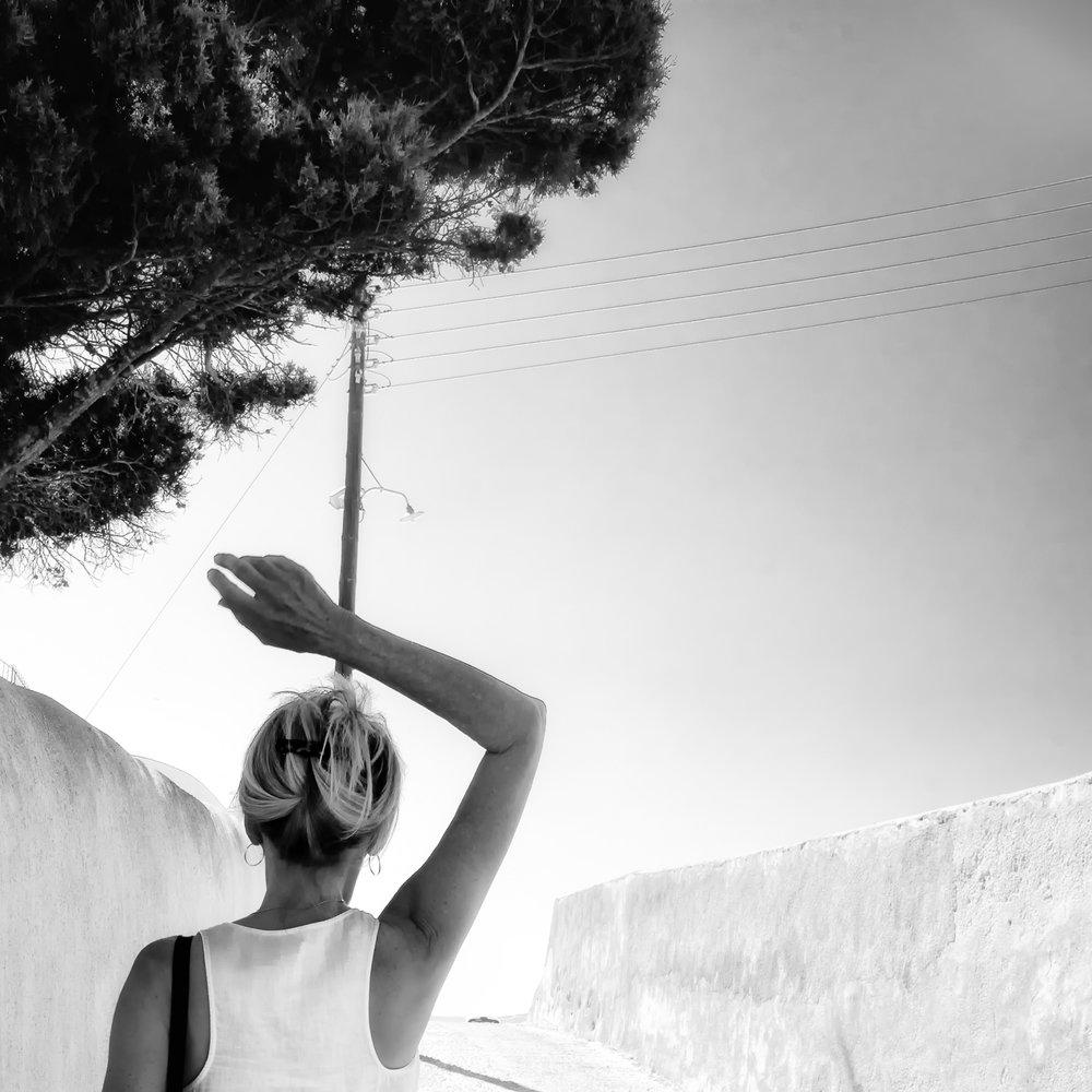 """""""Santorini, 2016"""" Archival Ink Print"""