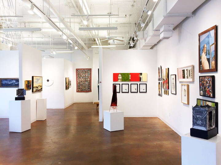 GALLERY A and BTouchstone Gallery Member Artists Group Show -