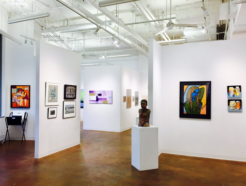 GALLERY AUNITY - In this exhibit the Touchstone artists focus on harmony in their work. Within each composition you will find wholeness and coherence, whether the focus is color, human relationships, social issues, mathematical oneness, linear quality, or repetition of design.
