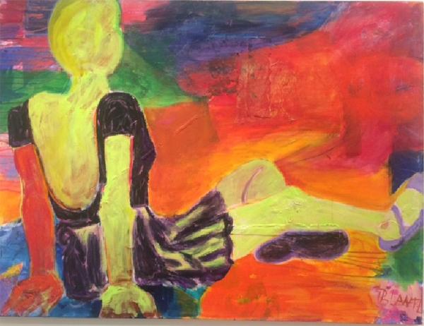 Resting Ballet Dancer