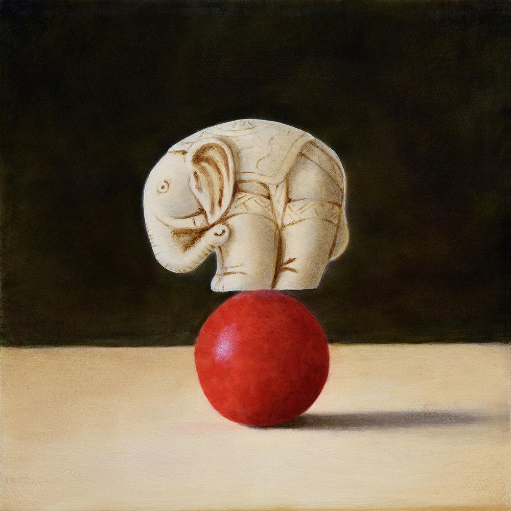 """Elephant on Red Jawbreaker"""