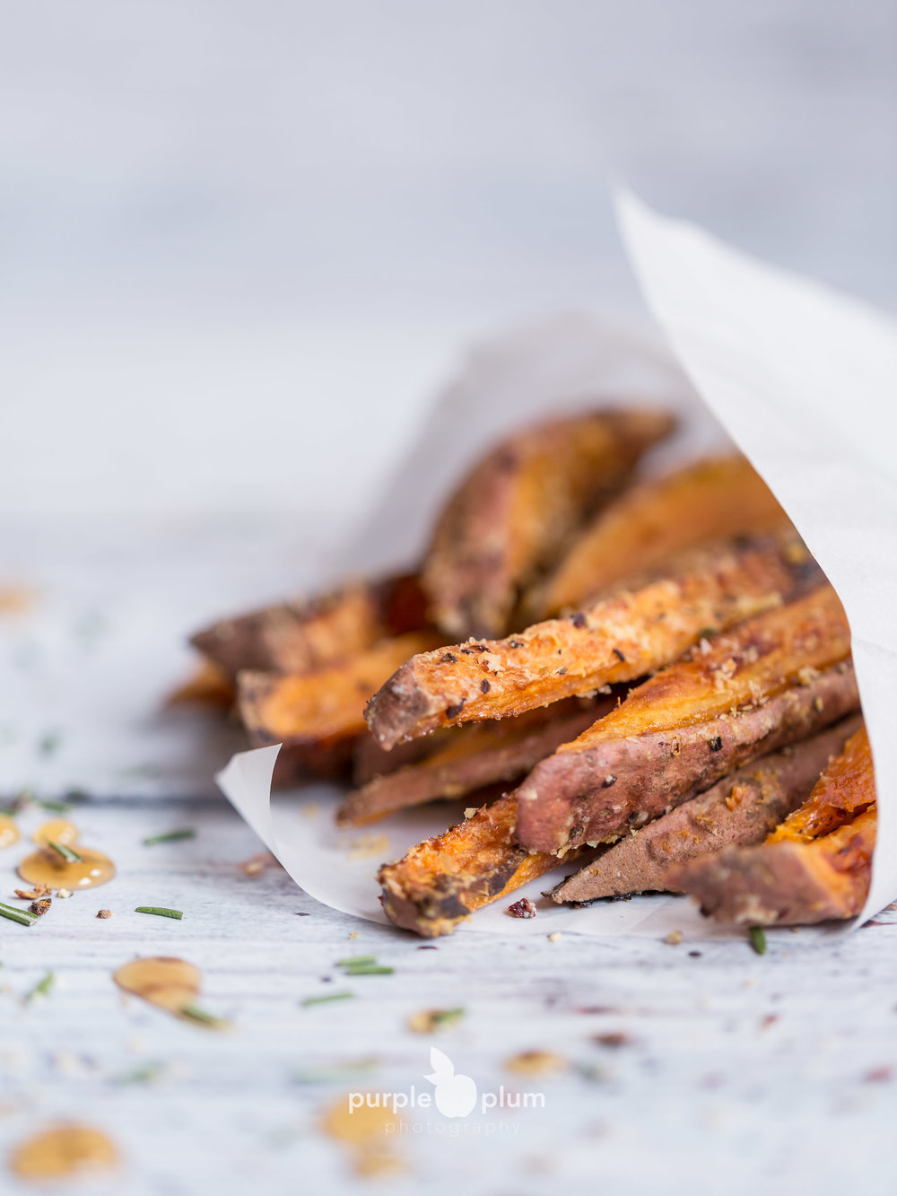 New on the blog this week: January, Week 2   Sweet Potato Fries with Maple and Parmesan