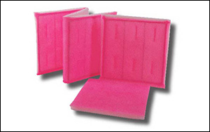 Panel & Link Filters Self sealing panel filters offer end users leak-proof performance and stand up to high moisture applications without collapsing, creating gaps that allow air by-pass typically associated with pleated filters and fiberglass disposable filters. 2-ply, 3-ply and 4-ply tackified and non-tackified filters are offered in all sizes.  Linked panel filters are available in all styles of media.