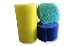 "Polyester Media • 1/2"", 1"" or 2"" polyester media • Available in pads or rolls"