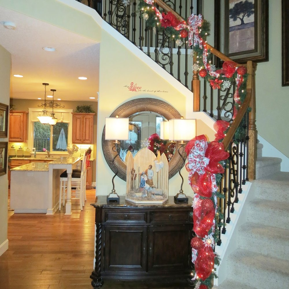 2012 Christmas Decor Home Tour - Part 1