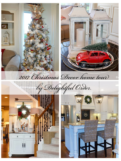2017 Christmas Decor Home Tour