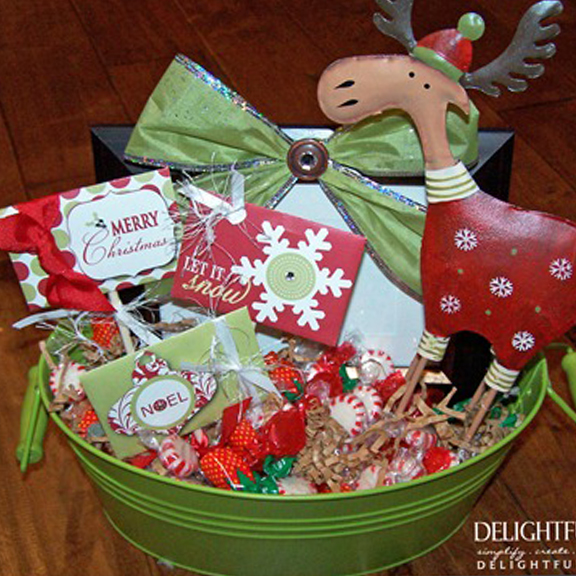 Christmas Basket Gift Idea