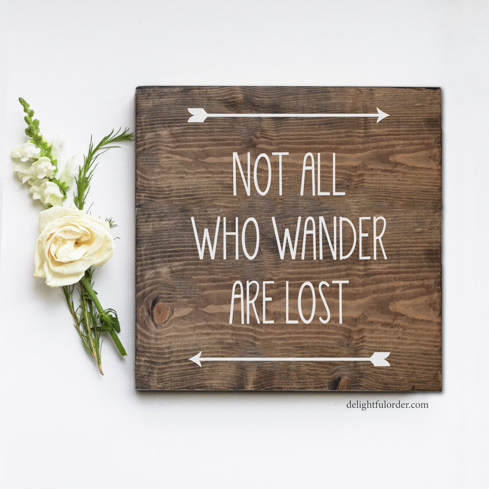 Not All Who Wander (S)