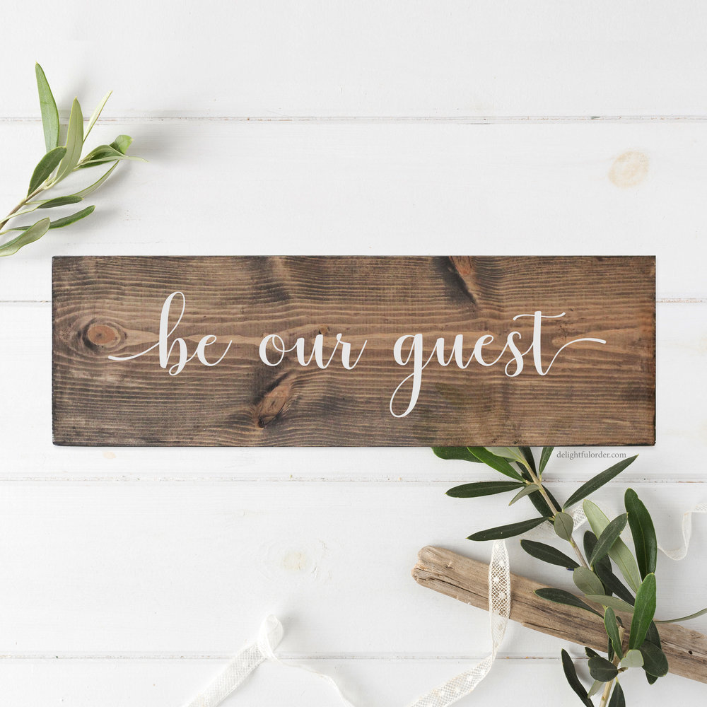 Be Our Guest (R)