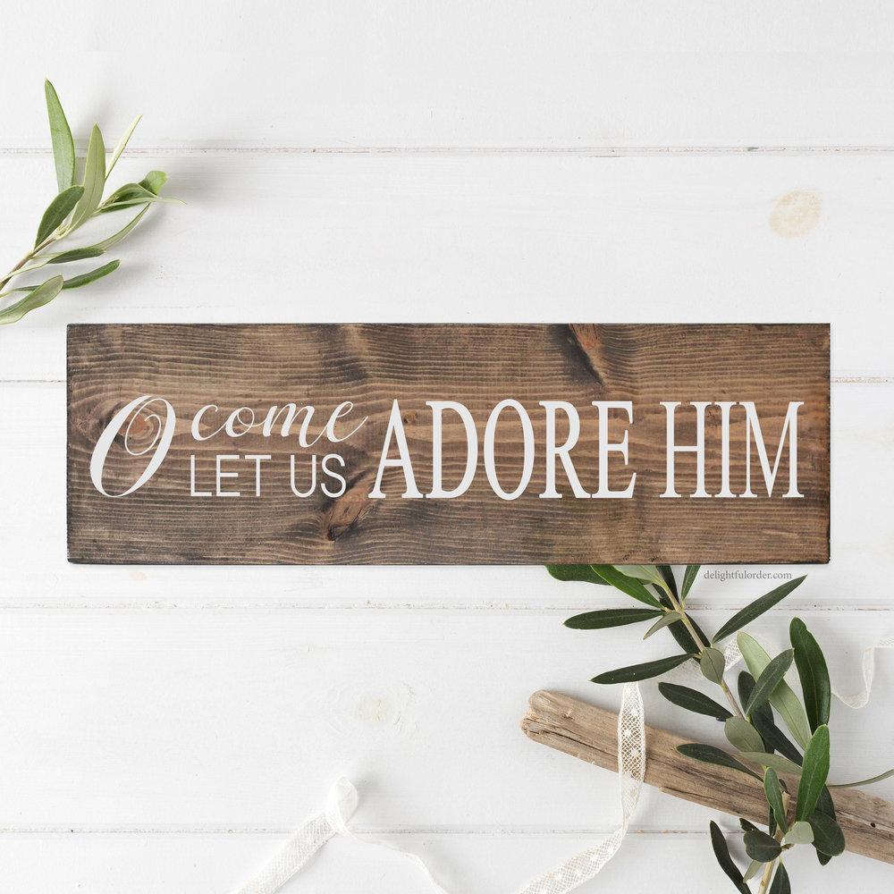 Adore Him (CR)