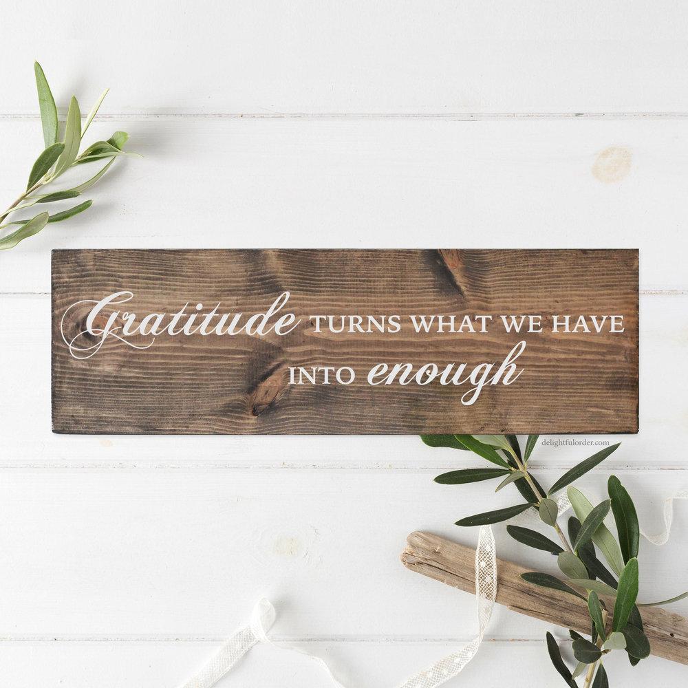 Gratitude (R)