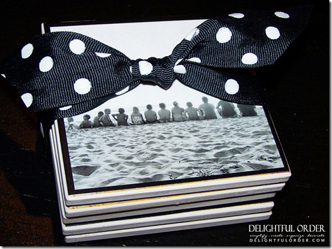 Photo Coaster Gift Idea