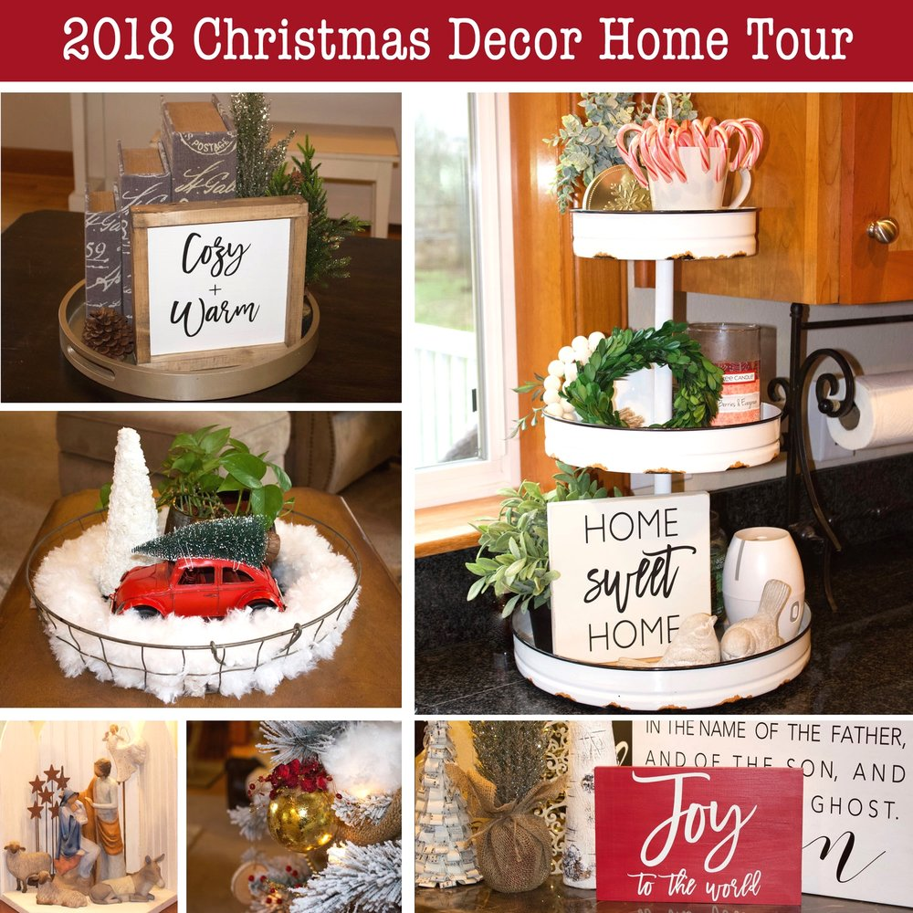 2018 Christmas Decor Home Tour