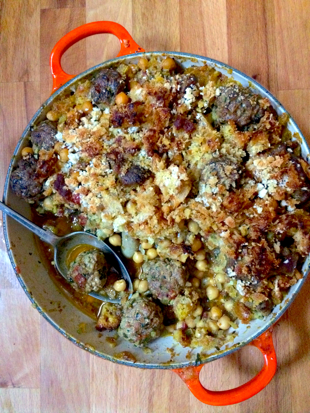 Moroccan cassoulet