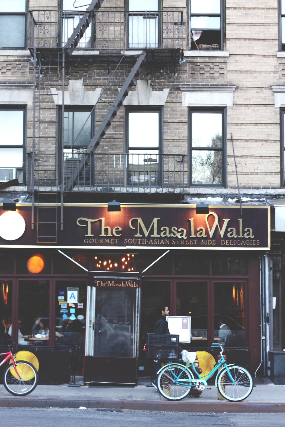 The MasalaWala in East Village.